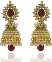 8ae8c9f8675e1 Chaahat Fashion Jewellery New Designed Pearl Copper Jhumki Earring