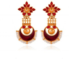Rooh Jewellery Brass Dangle Earring