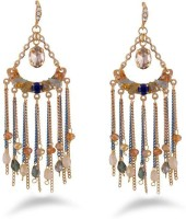 Jazz Jewellery Traditional & Antique Design Chandbali Earring Alloy Drop Earring