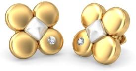 BlueStone The Dieden Gold Stud Earring