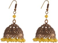 Ganapathy Gems Oxodised Brass Alloy Jhumki Earring