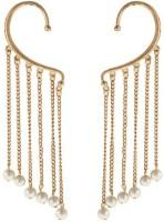 Ada Fashion Art Partywear Metal Cuff Earring