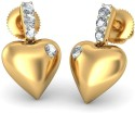 BlueStone The Forever After Yellow Gold Drop Earring