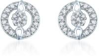 Sukkhi Gleaming Rhodium Plated Alloy Stud Earring
