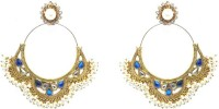 Moonstruck Blue Virtue Alloy Dangle Earring