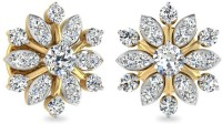 WearYourShine By PCJ The Bellatrix Diamond 18 K Diamond Gold Stud Earring