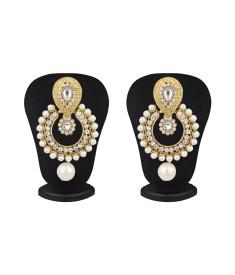 Styylo Fashion Diva Style Zircon Alloy Chandelier Earring