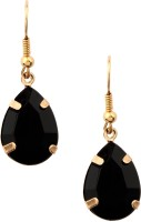 20Dresses Black Drops Of Gold  K Metal Drop Earring