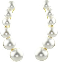 YouBella Designer Pearl Alloy Cuff Earring