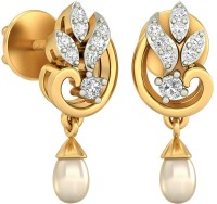 WearYourShine By PCJ The Hermeli 18 K Diamond Gold Drop Earring
