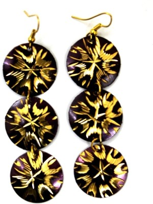 Alloy Edenoverseas 2252 Alloy Dangle Earring (Multicolor)