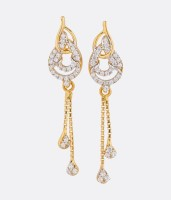Asure Jewel Florenza 22 K Yellow Gold Drop Earring