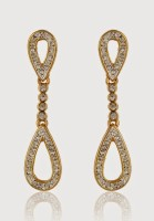 Estelle 452/701 ER SMP 2TN Alloy Drop Earring