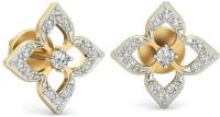 WearYourShine By PCJ The Ashilla Diamond 18 K Diamond Gold Stud Earring