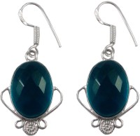 Zakaah Jewels Blue Quartz Alloy Dangle Earring