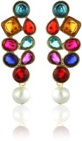 Zaveri Pearls Designer Alloy Drop Earring