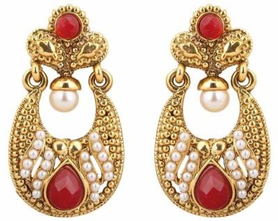 Get best deal for Scrunchh Alloy Chandelier Earring at Compare Hatke