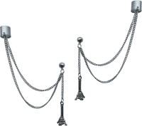 Sankisho Eiffel Tower Ear Metal, Alloy Cuff Earring