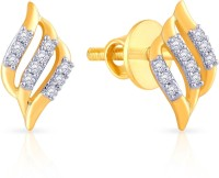 Malabar Gold And Diamonds E651983A 18 K Diamond Yellow Gold Stud Earring