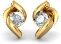 BlueStone The Isidora Gold Stud Earring