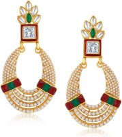 Sukkhi Divine 18K Yellow Gold Plated Alloy Chandbali Earring