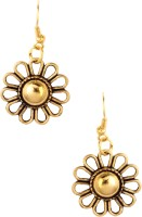 20Dresses Flowering The Gold Metal Dangle Earring