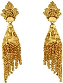 Heena Jewellery Trendy Collection Alloy, Brass Drop Earring