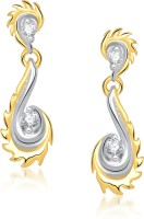 VK Jewels Sunshine 18K Yellow Gold Plated Cubic Zirconia Alloy Drop Earring