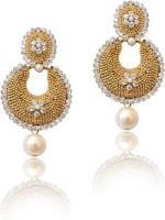 Cultural Fusion Vidya Balan 18K Yellow Gold Plated Alloy Chandelier Earring