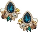 Sarah Exclusive Metal, Stone Stud Earring