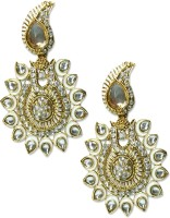Veneessa Alloy 18K Yellow Gold Dangle Earring