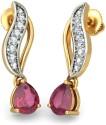 BlueStone The Arion Gold Drop Earring