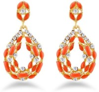Jazz Jewellery Party Wear Kundan Designer Pearl AD Stone Studded Earring Alloy Drop Earring