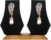 Just Like Diamonds Cubic Zirconia Brass, Alloy Drop Earring