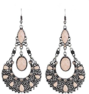 Fashionography The Vintage Danglers Alloy Chandbali Earring