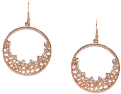 Toniq Gold Metal Dangle Earring