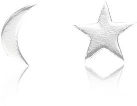 LeCalla JE102351SL Sterling Silver Stud Earring