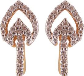 Saloni Jewels TA-209 Yellow Gold 18kt Diamond Drop Earring