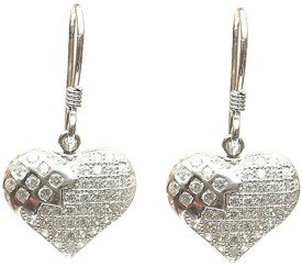 LeCalla E0037 Sterling Silver Drop Earring