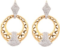 Aamoye Adorable Rhodium Plated Alloy Drop Earring