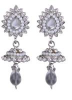 SP Jewellery Rhodium Plated Alloy Drop Earring - ERGEY6NKGQHHKZ26