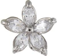 Fayon Funky Fashion Silver Flower Ear Band Alloy Cuff Earring