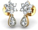 BlueStone The Juvela Earrings Yellow Gold Drop Earring