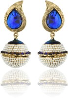 Zaveri Pearls Hanging Alloy Drop Earring
