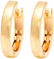 Memoir Simple Design Bali For Men And Women Brass Hoop Earring