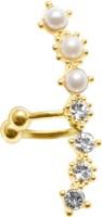 Simaya Fashion FE Pearl Alloy Cuff Earring