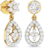 WearYourShine By PCJ The Mysha 18 K Diamond Gold Drop Earring