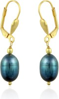 Pearlz Ocean Yellow Gold Plated Alloy Clip-on Earring - ERGEFSFMRVGVRZTZ
