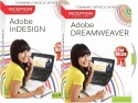 Inception Learn Adobe Dreamweaver  +  Adobe InDesign (CD)