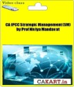 CAKART CA IPCC Strategic Management (SM) By Prof Niviya Mandavat - Pen Drive